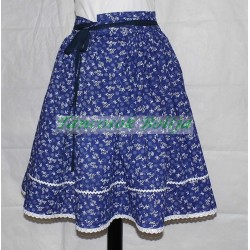 Colorful folk dance skirts