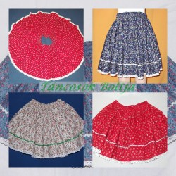 folk dancing girls skirts